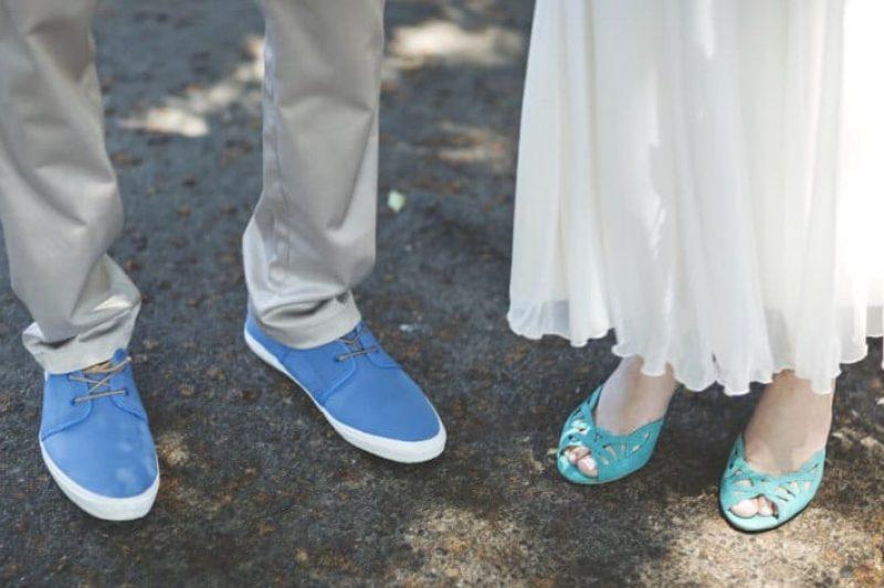 תוסיפי צבע לשמנת – ללכת על נעלי כלה צבעוניות