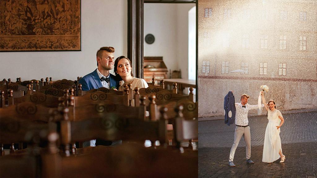 חתונה קטנה בפראג – חתונת וינטאג' אורבני משובחת